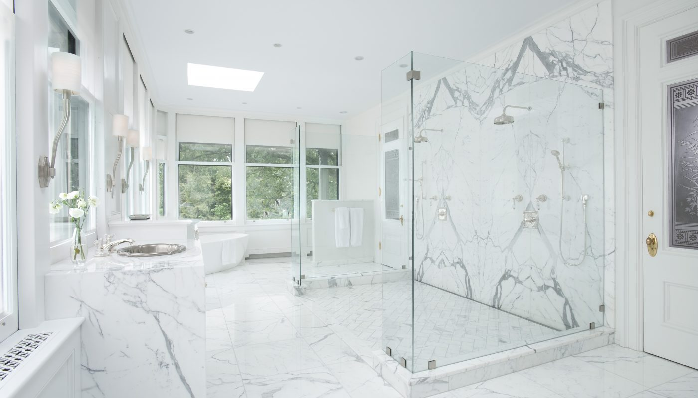 Amazing bathroom design by Slocum Hall Design