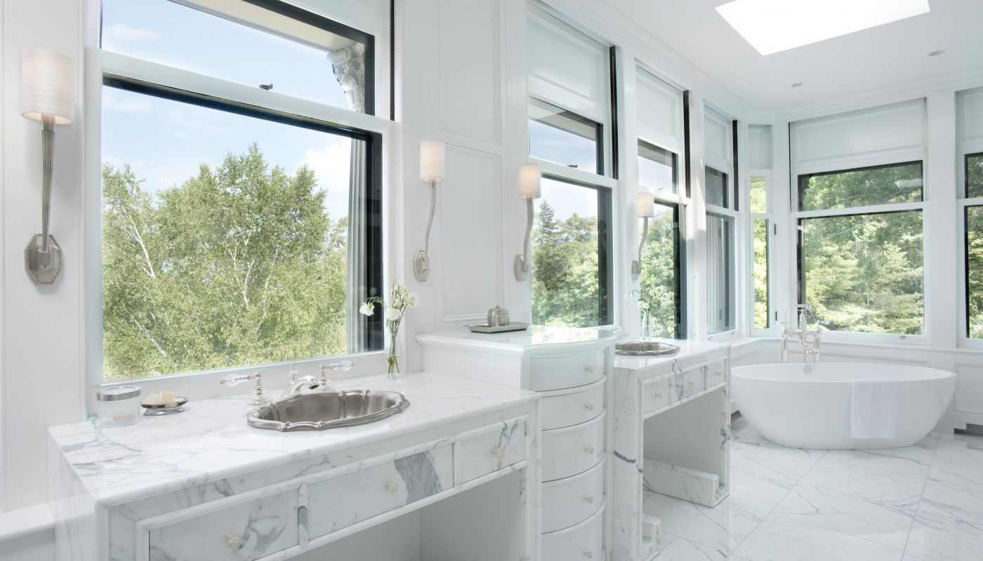 Interior Bathroom Design By Slocum Hall Design