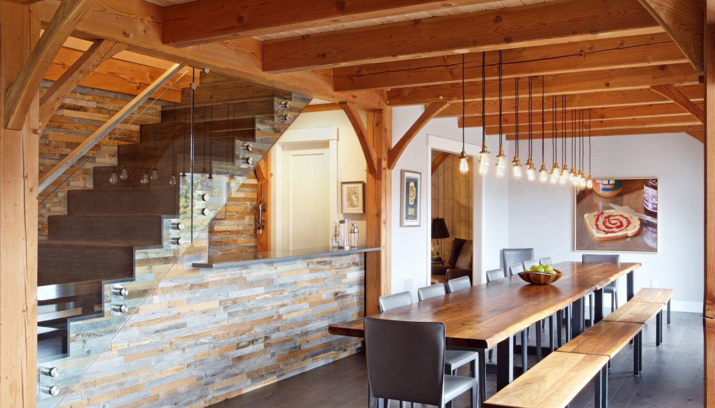 Dining Room Design In Stowe, VT