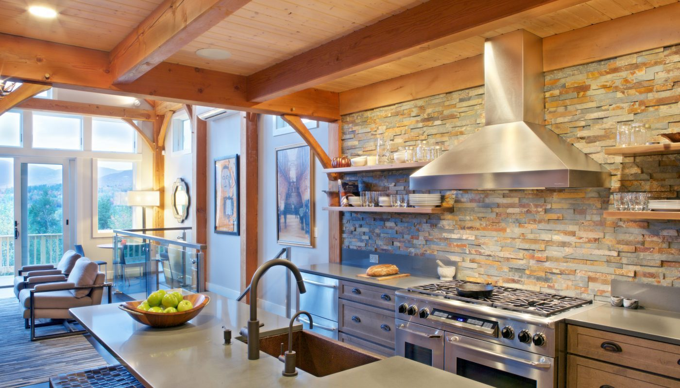 Stunning Kitchen Design for Stowe, VT Architectural Project
