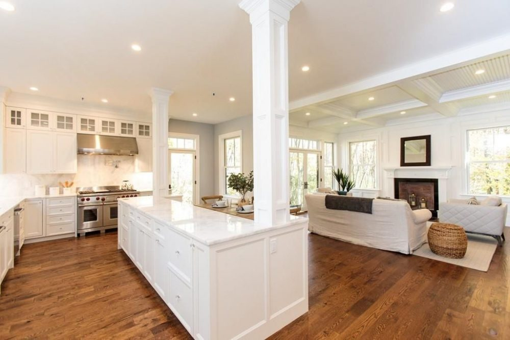 Kitchen Design For New Construction In Weston, MA