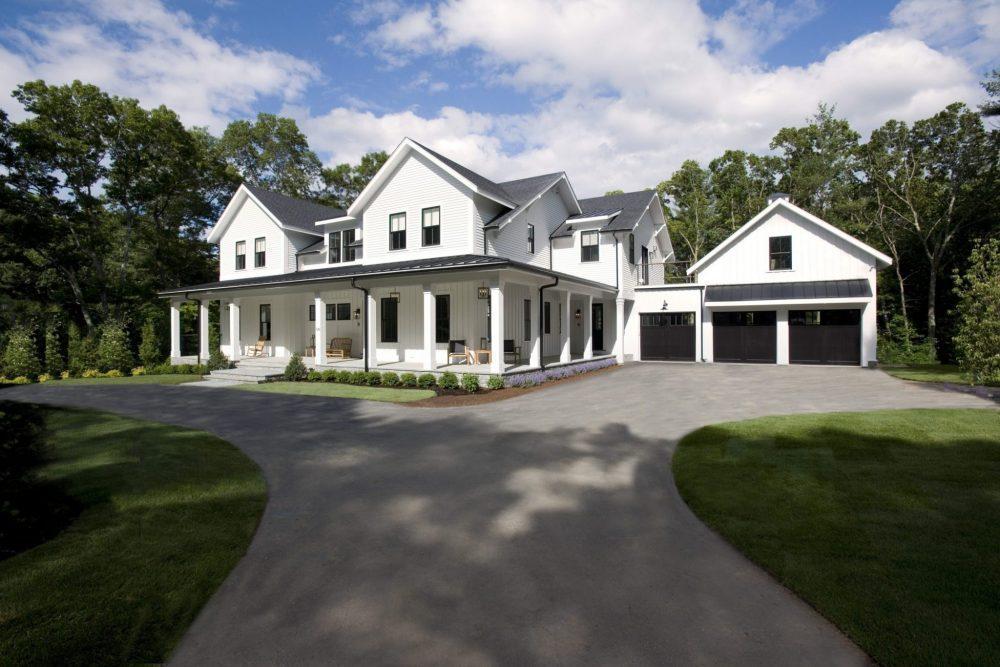 Exterior Shot of Architecture Design in Weston, MA