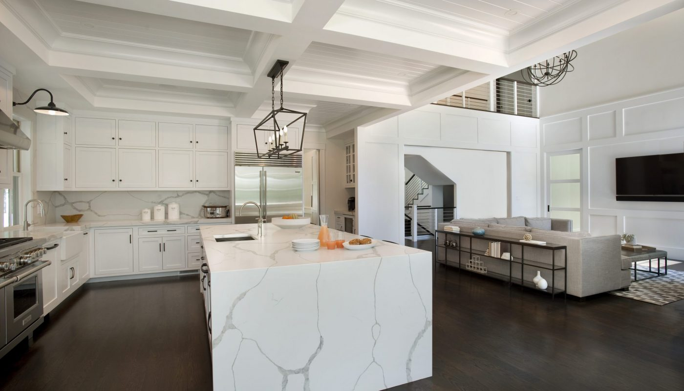 Photo of Interior Kitchen Design in Weston, MA