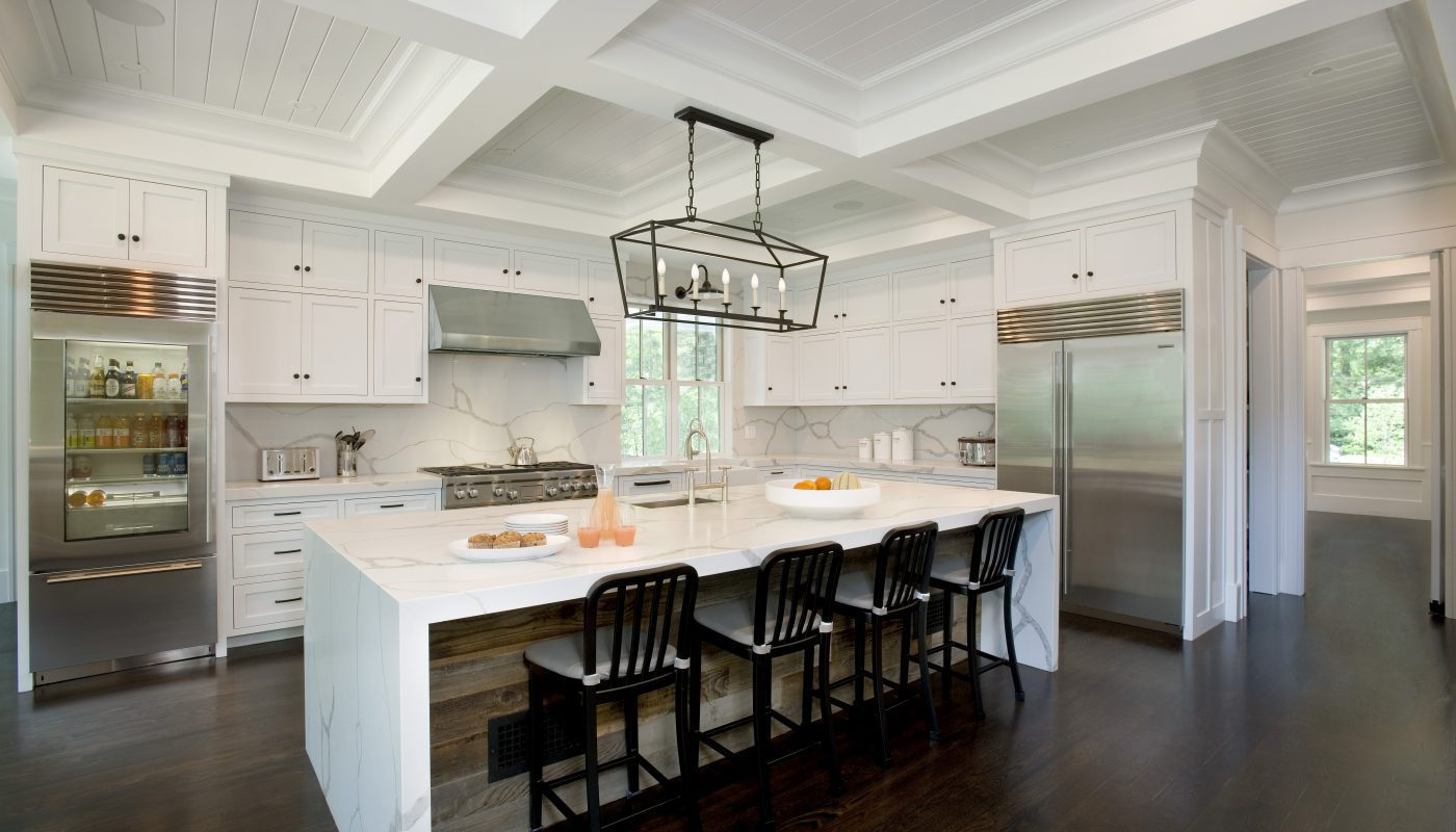 Wide View of Beautiful Kitchen