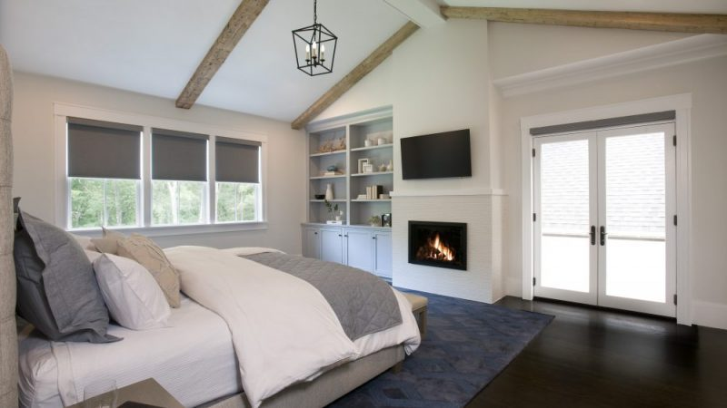 Conventional Gas-burning Fireplace