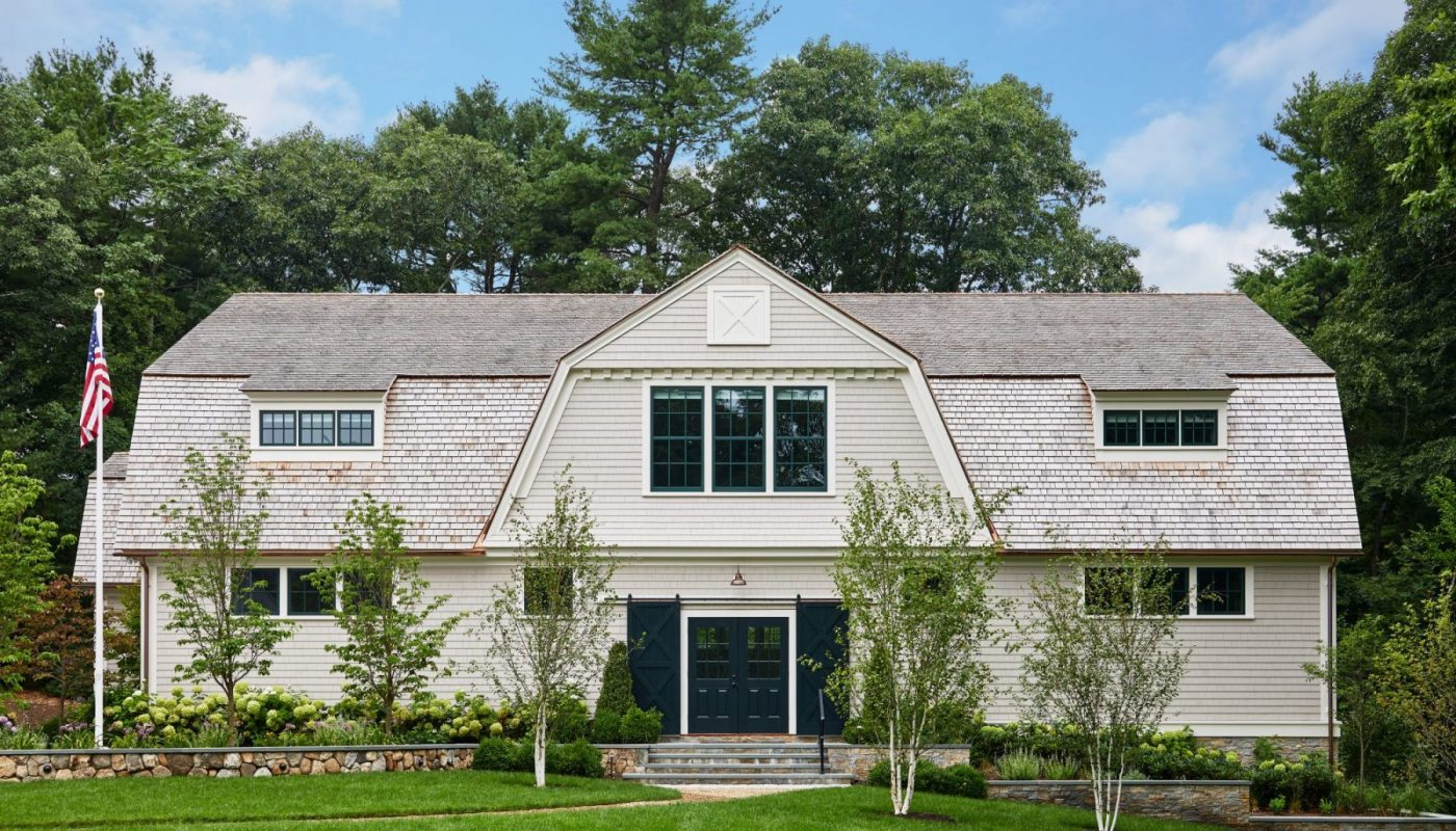 Wellesley, MA New Construction Design - Exterior Photo