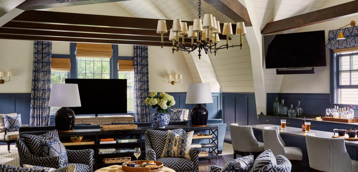 Interior Architecture Design of home in Wellesley, MA