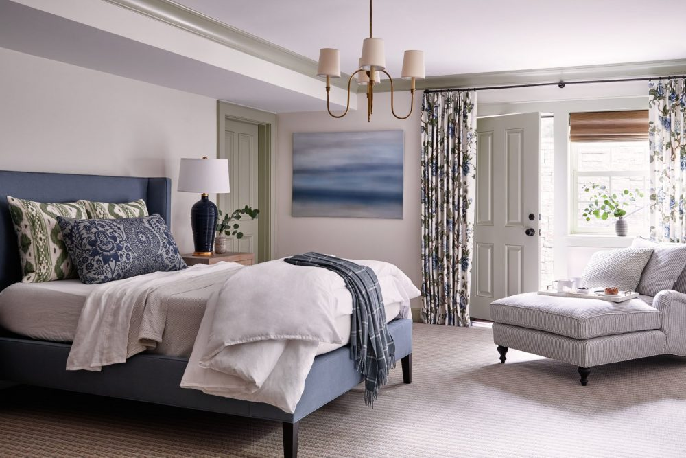Photo of bedroom interior design in Wellesley, MA