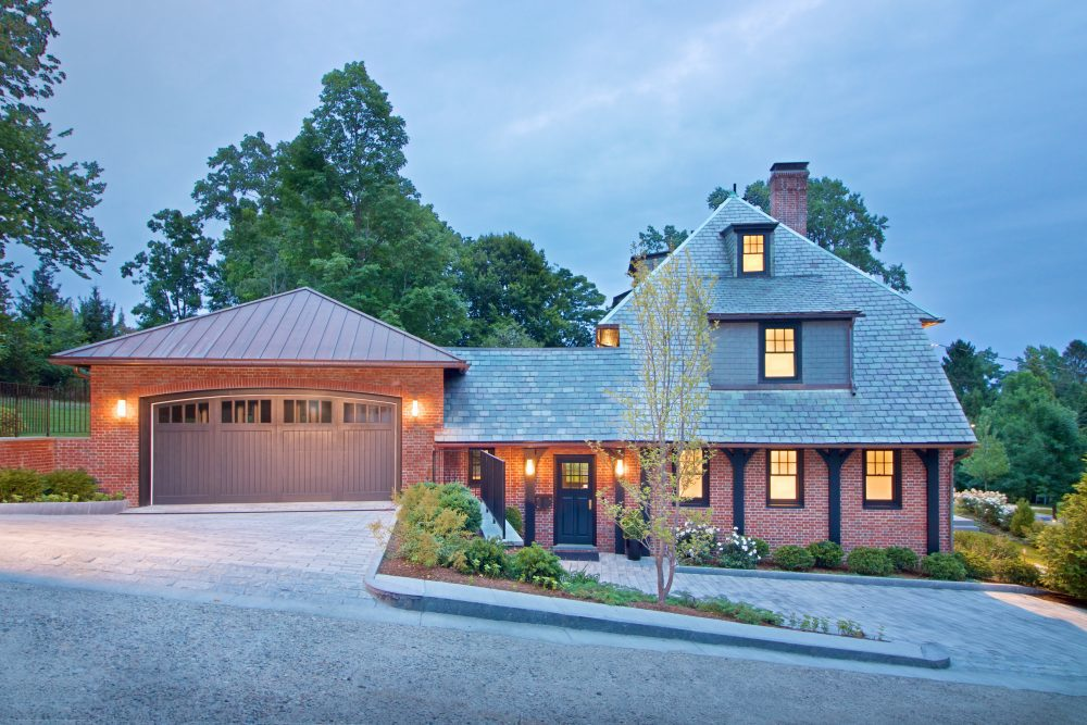 Home Addition Architect Aronson garage side view